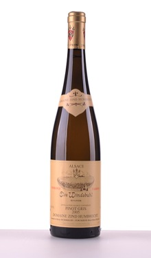 Pinot Gris Clos Windsbuhl, Vendanges Tardives